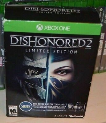 Dishonored 2 - Limited Edition [Xbox One] New and Factory Sealed!!