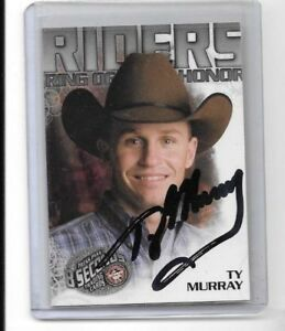 2009 Press Pass 8 Seconds #3 Ty Murray Auto/Signed