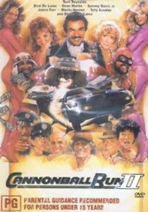 CANNONBALL RUN 2 (Burt Reynolds)  -  DVD - UK Compatible - New & sealed
