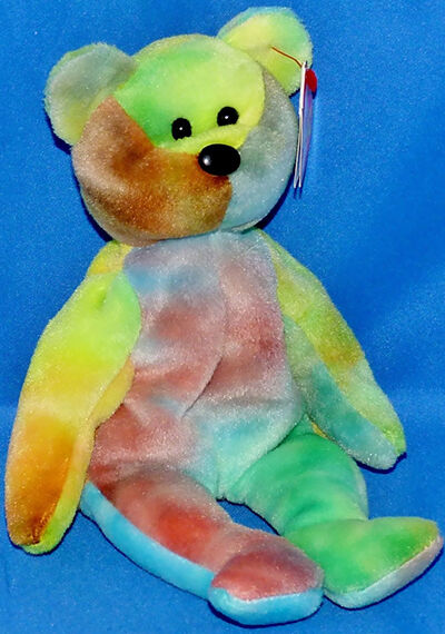 Garcia the Tie-Dyed Bear