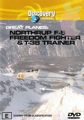 Great Planes - Northrop F-5 Freedom Fighter & T-38 Trainer (DVD, 2004) for sale  Shipping to United States