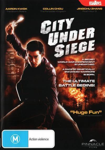 City Under Siege  - DVD - NEW Region 4