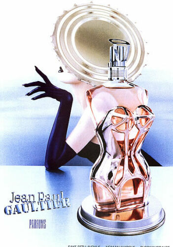1995 Jean Paul Gaultier perfume vintage 1-page MAGAZINE AD
