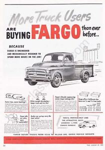 51' Fargo (Dodge) Pickup Truck