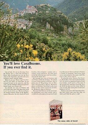 1964 American Express Credit Card Casalbuono Italy Print Ad