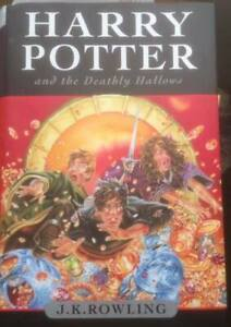4 HARRY POTTER HARD COVER BOOKS- 2 CDN 1ST EDITIONS