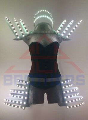 Rave clothing LED Corset for Performance and Night Club Show RGB - Kostüm Controller