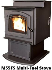 Enviro Multi-Fuel (Grain or Pellet) Stoves - Three Models
