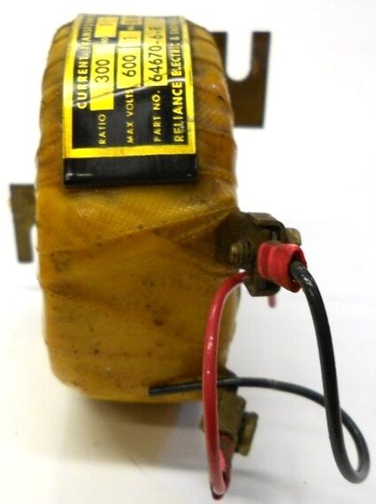 RELIANCE ELECTRIC & ENGINEERING CO. CURRENT TRANSFORMER, 64670-6-R