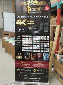 Roll up Retractable Banner Stand for $59.95