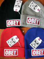 plusieurs tuques OBEY hats beanies