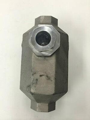 Universal Tool Ut-9330 Air Tool Oiler 34 Fpt New