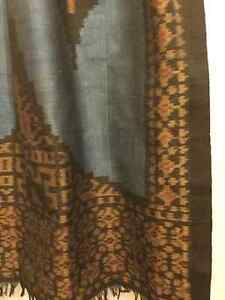 Hand Loom Scarf known as Cotton Silk made in Indonesia