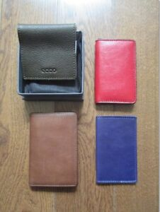 ECCO, MASSIMO DUTTI, MO851 and DANIER wallet/card holders