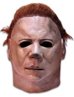 Trick or Treat Halloween 2 Michael Myers Halloween Costume Deluxe Mask JMUS100 - Halloween 2 Maske
