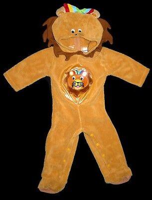Baby Einstein Infant Plush Lion Halloween Costume 12-18 months EUC (Einstein Halloween Kostüme)