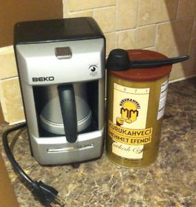 BEKO Premium Automatic Turkish Coffee Maker - $95 obo