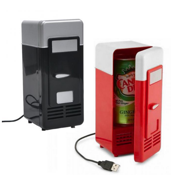 Portable Car Refrigerator USB charge COOL/ Heat For Beverage