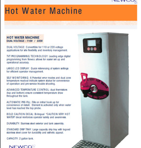 Newco NHW-15 - Hot Water Tower (3 units for sale) - $300 OBO