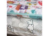 2 patterned changing mats (Kidly/Mamas & Papas)