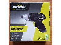 New Challenge xtreme 4.8v Cordless Screwdriver