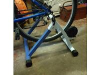 Exercise bike stand trainer converter
