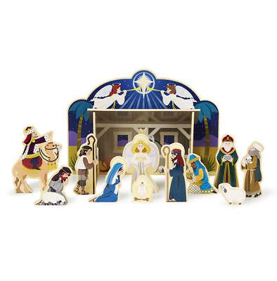 Wooden Christmas Nativity Set from Melissa & Doug #3858 Christmas