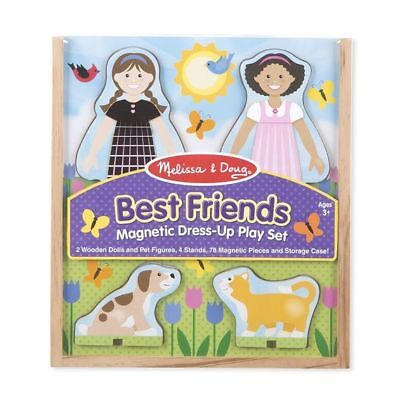BEST FRIENDS  MAGNETIC DRESS-UP PLAY (Best Dress Up Clothes)
