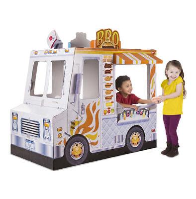 Melissa & Doug Food Truck Indoor Playhouse - New Factory Sealed