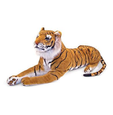 Melissa and & Doug Large Giant Plush Animal Stuffed Tiger - New Item # 2103