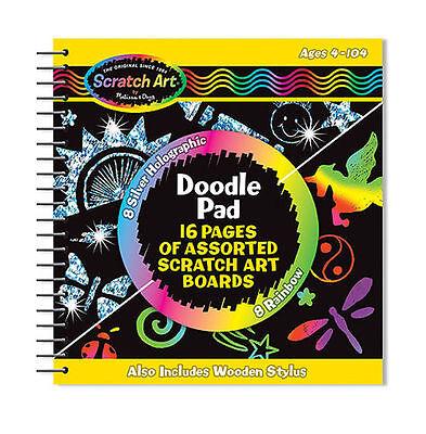 Scratch Art Doodle Pad - Melissa Doug Scratch Art Doodle Pad - Buy 1, get 1 for 20% off