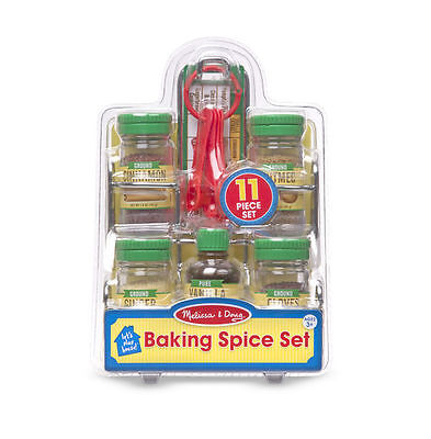 Melissa & Doug Let's Play House! Baking Spice Set - 11 Piece Set #9349 NEW