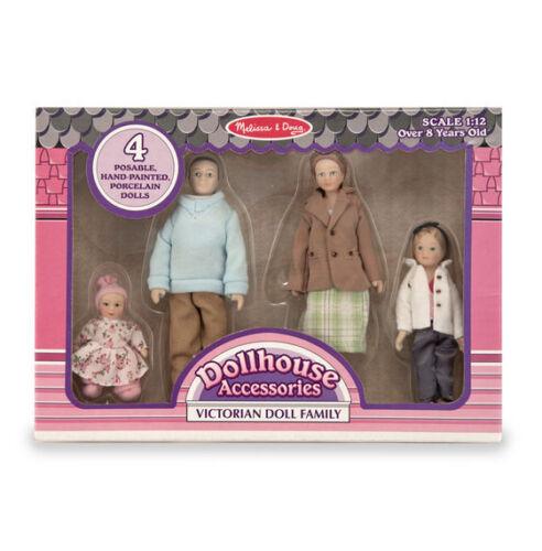 Victorian DOLLHOUSE FAMILY ~ 2587 ~4 Dolls ~ FREE USA SHIP ~ Melissa & and Doug