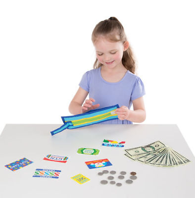 Melissa and Doug  PRETEND - TO - SPEND WALLET
