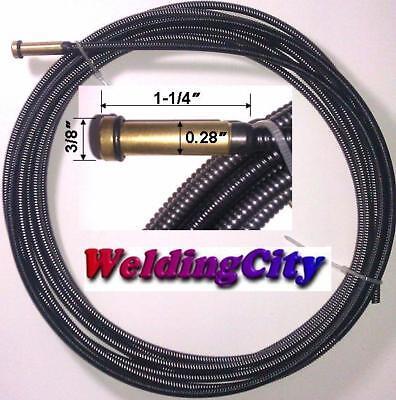 Weldingcity Mig Welding Gun Liner 44-3035 15 .030-035 For Tweco Lincoln 3400a