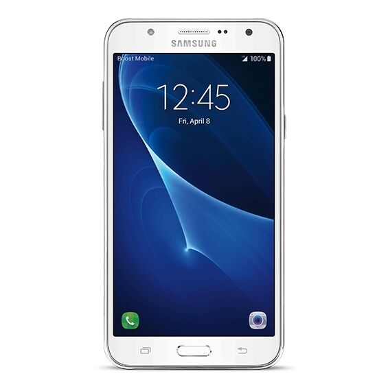 Samsung Galaxy J7 - No Contract Phone - White -
