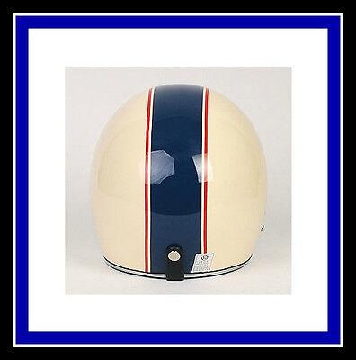 Motorcycle Vinyl 2 COLOR stripe Helmet Graphic Decal Set Stripes Decals