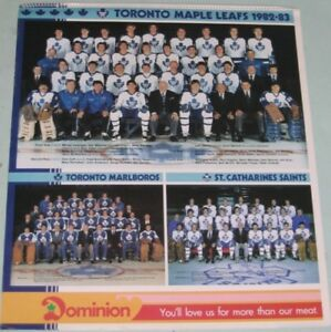 Toronto Maple Leads 1982-83 Calendar