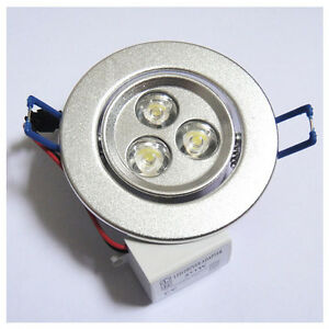 3W-Power-LED-Recessed-Ceiling-Down-Bulb-Spot-Cool-White-Light-Lamp-85-265V