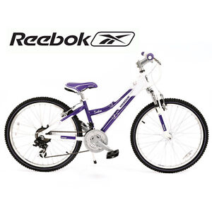 Reebok 24 inch Satin Junior Child Kids Girls Mountain Bicycle Bike