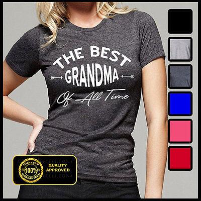 Best Grandma Ever Shirt, Best Grandma Of All Time Tshirt, Funny Granny