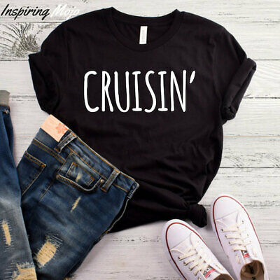 Cruisin T-Shirt, Cruise Shirt, Crusin and Boozin Shirt, Cruise Ship Shirt, (Booze And Cruise)