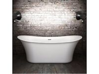 Charlotte Edwards 1800mm Admiralty Freestanding Bath - BRAND NEW - STOCK CLEARANCE - BEST UK PRICE