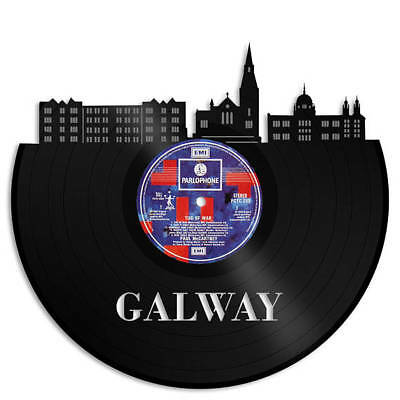 Galway Ireland Vinyl Wall Art Unique Engagement Gift Ideas For Couple Home Decor ()