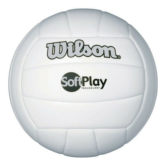 Wilson Soft Play Volleyball (White)