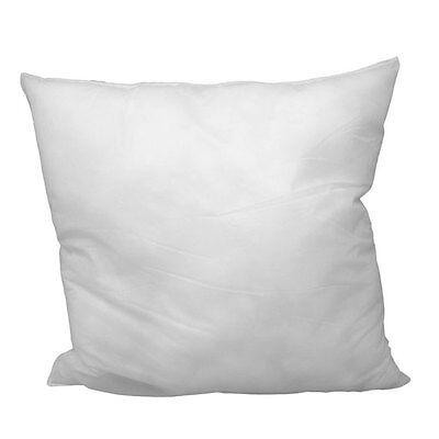 "E & B Home 18"" L X 18"" W Pillow Sham Stuffer White Square Hypoallergenic Pillow"