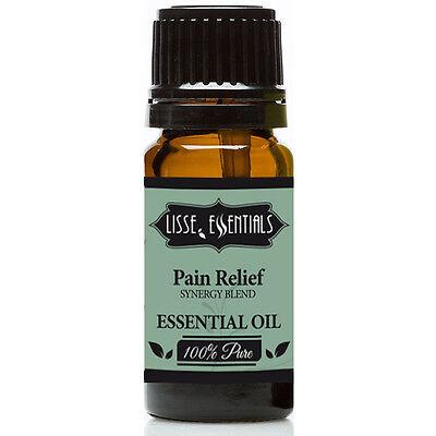 Lisse Essentials Pain Relief Essential Oil  100  Pure Therapeutic Grade  10 Ml
