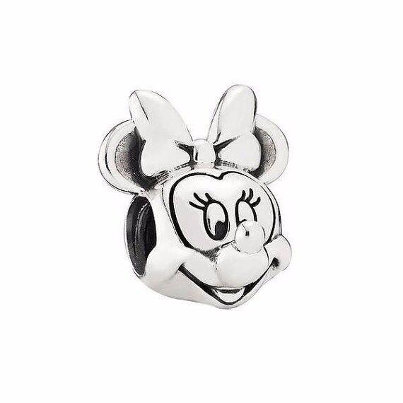 PANDORA Disney, Minnie Portrait Charm Item #791587 - RRP £45