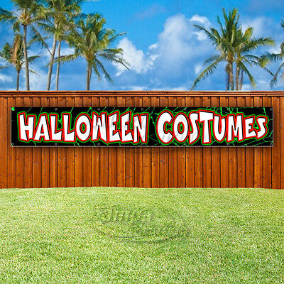 HALLOWEEN COSTUMES Advertising Vinyl Banner Flag Sign LARGE HUGE XXL SIZES USA  - Huge Halloween Costumes