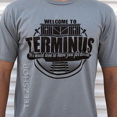 TERMINUS the walking dead cannibals zombie apocalypse outbreak Halloween T-Shirt
